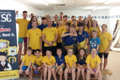 Diss Otters had a successful time at this year's County Championships held at UEA Sportspark over the last two weekends.